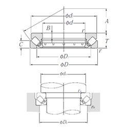 NTN 29452 Self-Aligning Thrust Roller Bearings