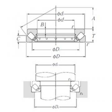 NTN 29422 Self-Aligning Thrust Roller Bearings