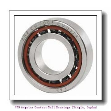 170,000 mm x 260,000 mm x 42,000 mm  NTN 7034B Angular Contact Ball Bearings (Single, Duplex)