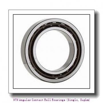 120 mm x 215 mm x 40 mm  NTN 7224B Angular Contact Ball Bearings (Single, Duplex)