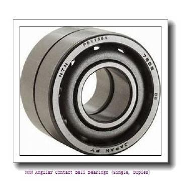 240,000 mm x 440,000 mm x 72,000 mm  NTN 7248 Angular Contact Ball Bearings (Single, Duplex)